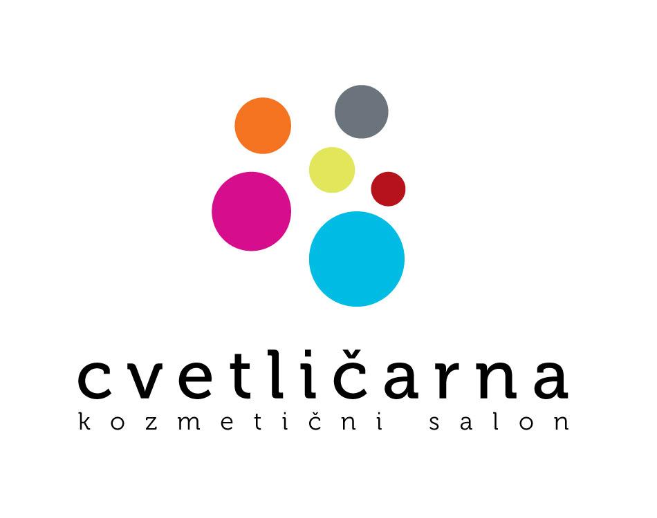 kozmeticni salon Cvetlicarna - logotip | risarna // arhitektura ...
